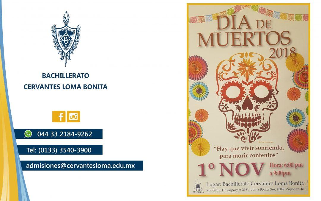 Invitación Día de Muertos.