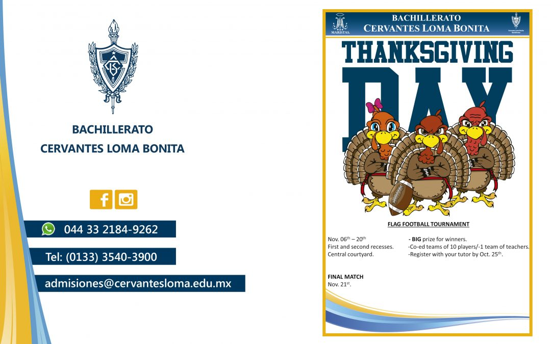Torneo en thanksgiving