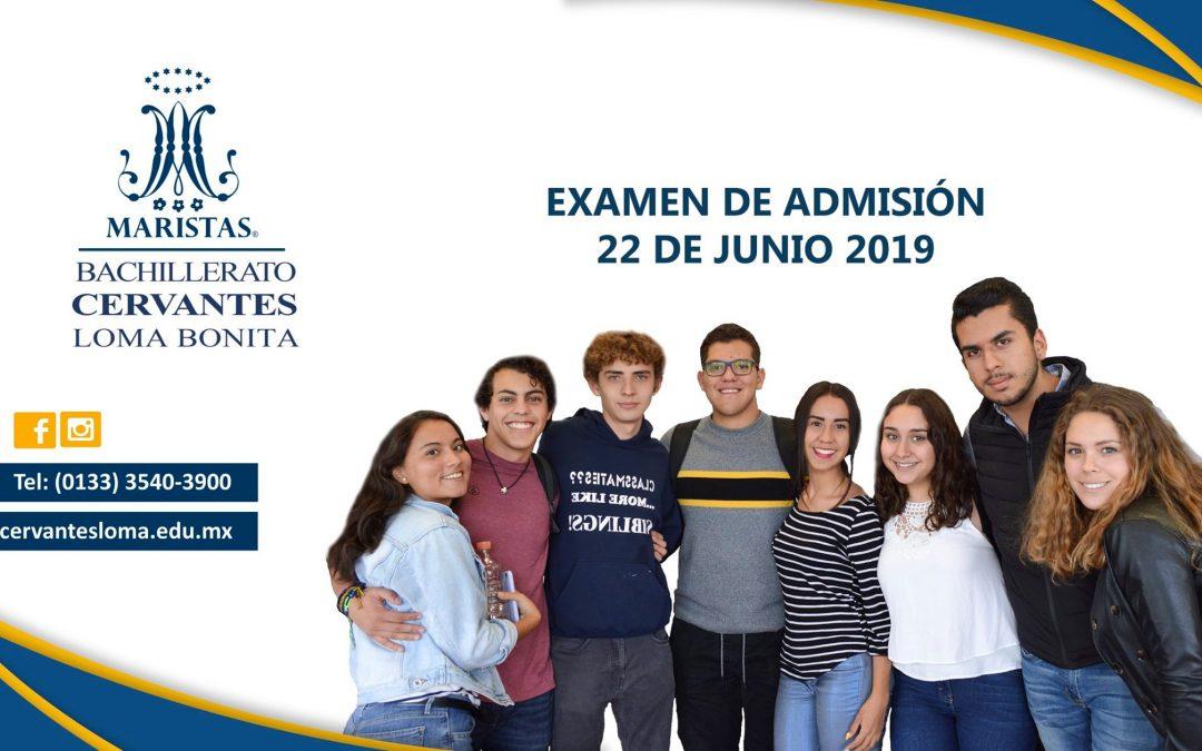 Examen de Admisión Junio 2019