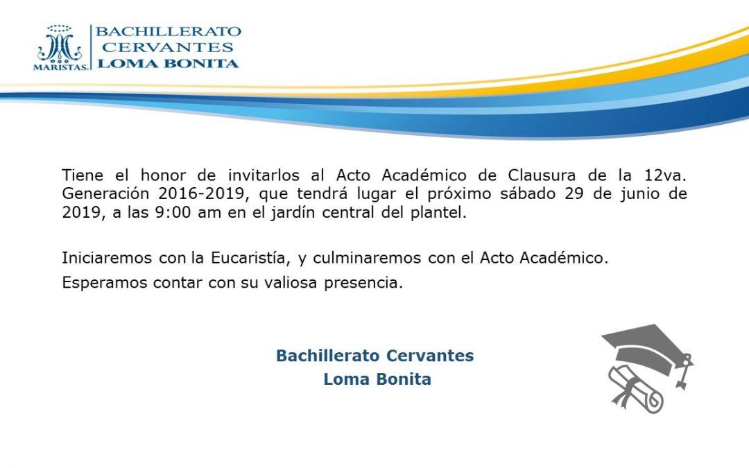 Acto Académico 2019