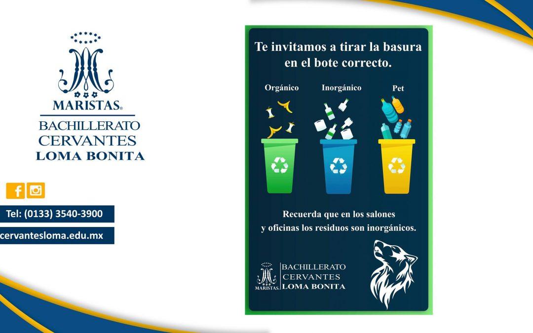 Campaña para la separación y reducción de residuos sólidos